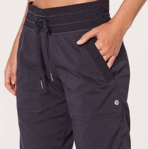 Lululemon Black Unlined Dance Studio Pant